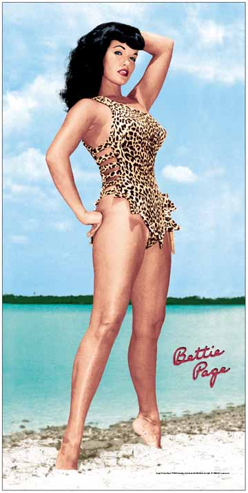 Bettie Page Beach Towel.jpg