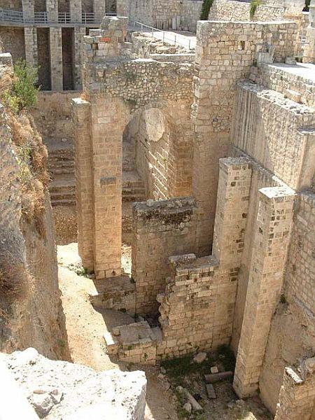 Oh jerusalem le film for Piscine de bethesda