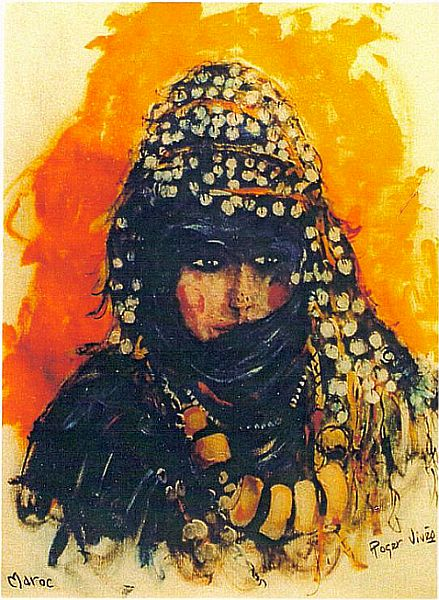 Terre Marocaine, une femme.jpg