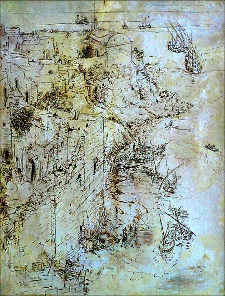 Au pied de la casbah des Oudayas, du temps des pirates.jpg