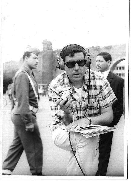 Jojo Benarroch reporter sportif a Rabat.1.jpg