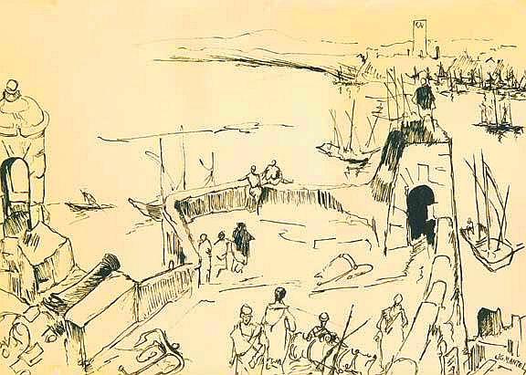 JG mantel, fortification des oudayas 1971.jpg