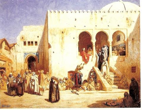 Marcus WATERMAN-Tanger-Place d la Kasbah.jpg
