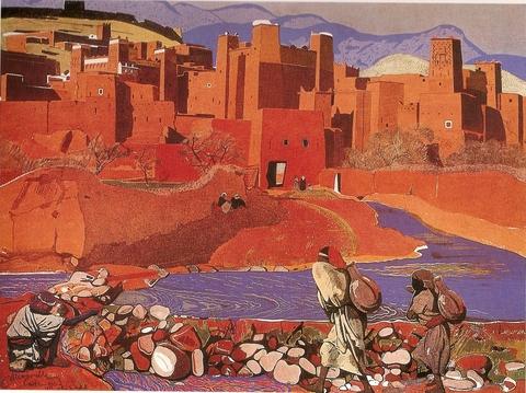 Peintres au maroc - Peintre majorelle oeuvres ...