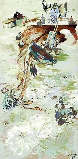 COMPOSITION. Huile sur panneau.  date 1969. JG Mantel.jpg