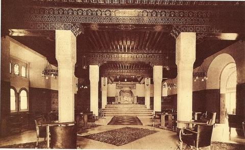 Hall de l\'hotel Mamounia-Salon Majorelle-1.jpg