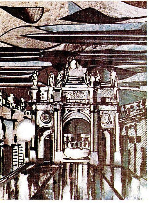 1963, Raphael Cohen Porte Here, Nancy , collage.jpg