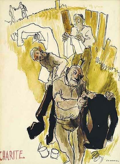LA CHARITE , encre  aquarellee JG Mantel.jpg