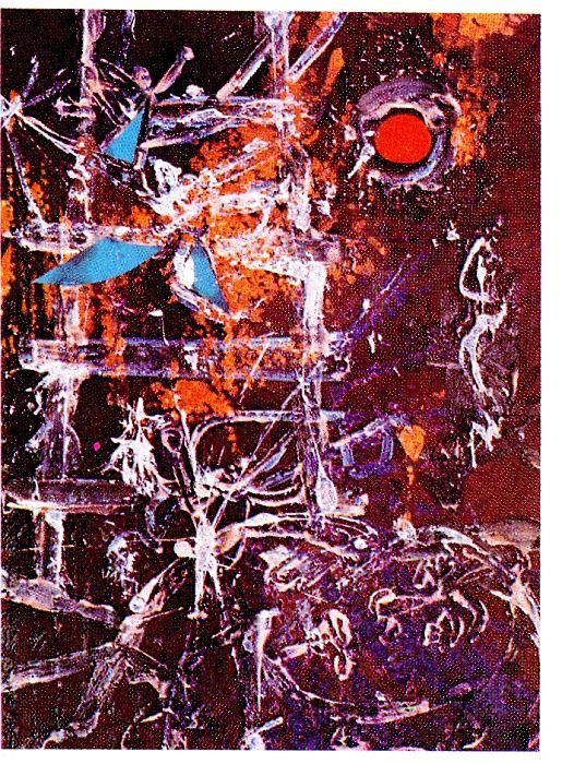 Songe de Jacob  technique mixte, Dairac 1962.jpg