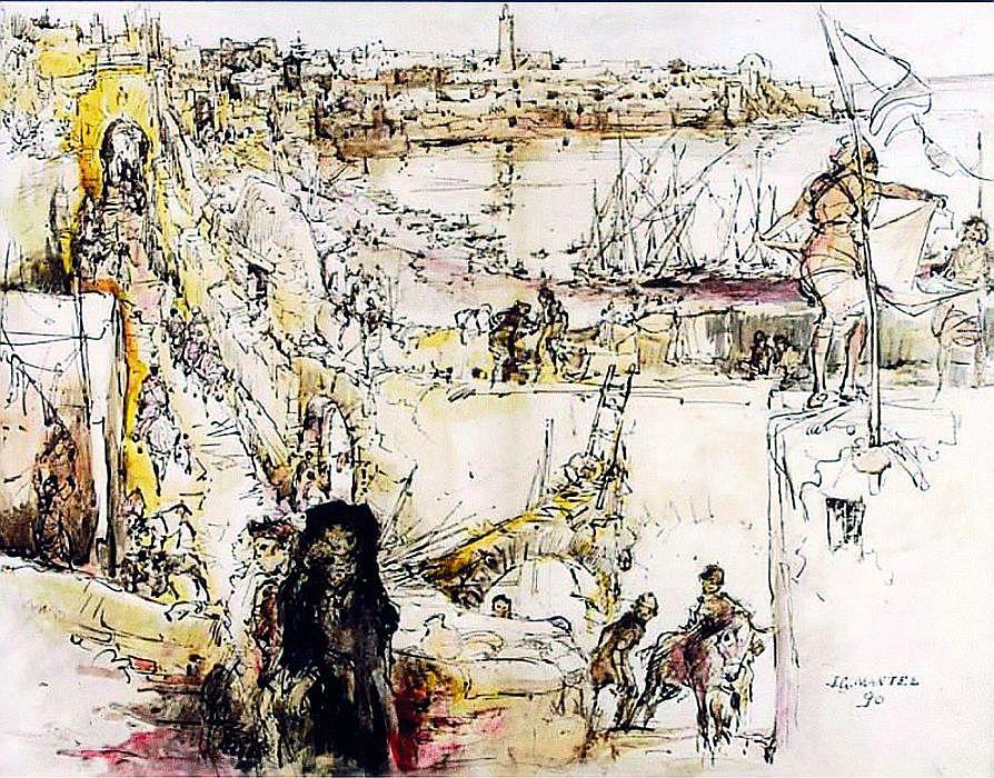 1.Jean G Mantel, 1990, les rives du Bou Regreg a Rabat.jpg
