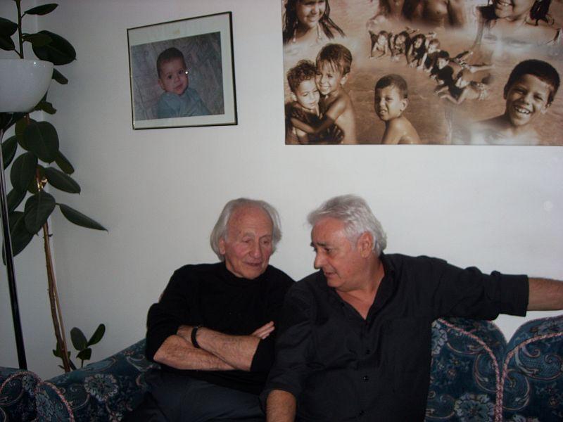 Noah Klieger et Loulou Benaccoun chez Raoul.jpg
