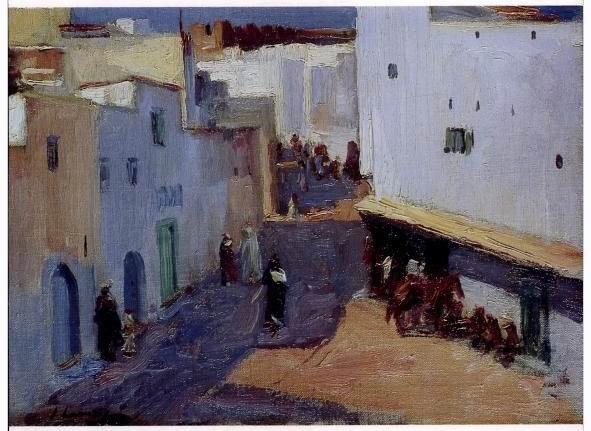 Sir John Lavery rue de Tanger.jpg