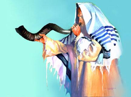 Blowing Shofar Painting.jpg