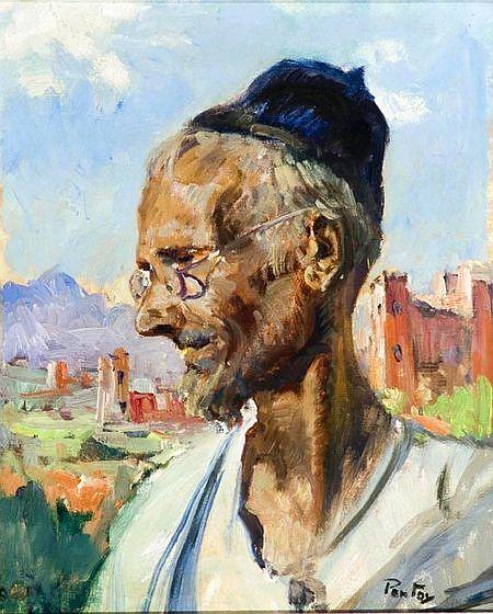 Portrait d\'un vieux juif ,Pontoy, Henri 1888-1968.jpg