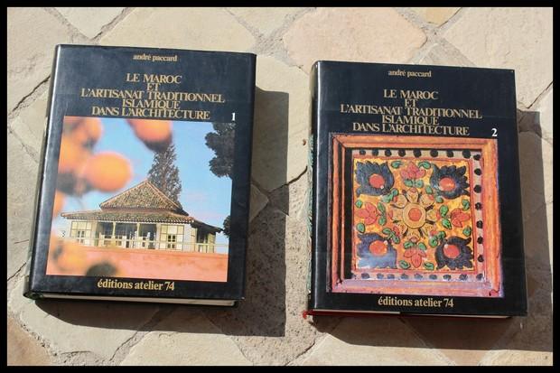 Les 2 livres de andr paccard sur l 39 architecture e et l 39 artisanat au - Livre sur l architecture ...