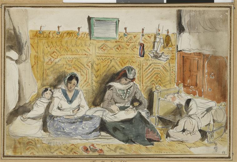 famille juive, 1832, Tanger.jpg