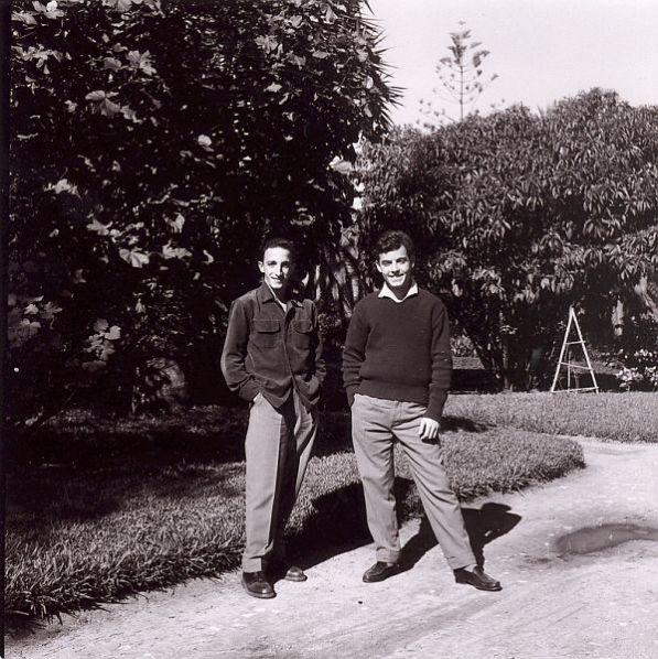 Raphy et Rafalfa au jardin public a rabat.jpg