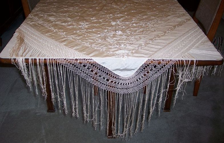 foulards chales coiffes de nos grands m res. Black Bedroom Furniture Sets. Home Design Ideas