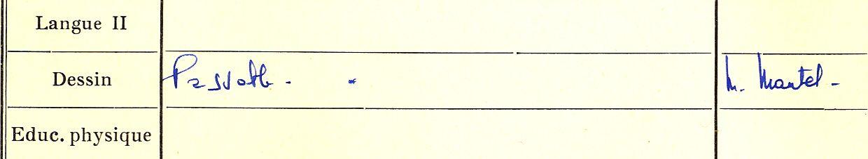 JG Mantel , mon prof de dessin en 6e9 annee scolaire 1958-59, lycee Gouraud Rabat.jpg