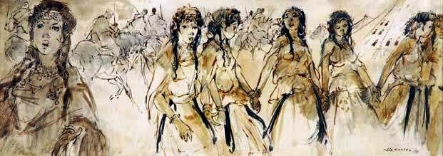 jg mantel  MOUSSEM - 1978 , pigments sur peau.1.jpg