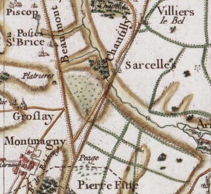 Sarcelles-Carte_de_Cassini Sarcelles vers 1780.jpg