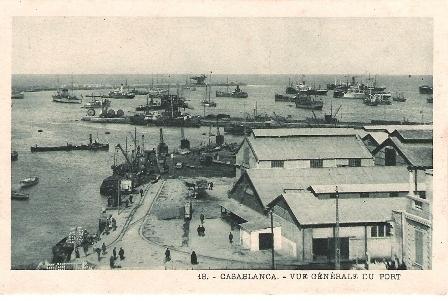CASABLANCA - 1920 - Le port.jpg