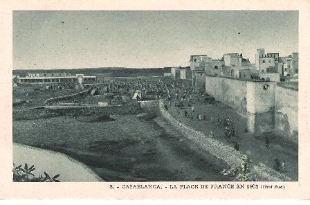 CASABLANCA  -  1905- Place de FRANCE.jpg