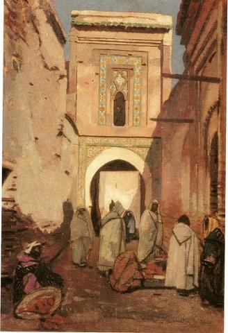 Jacques MAJORELLE-Ruelle de Marrakech.jpg