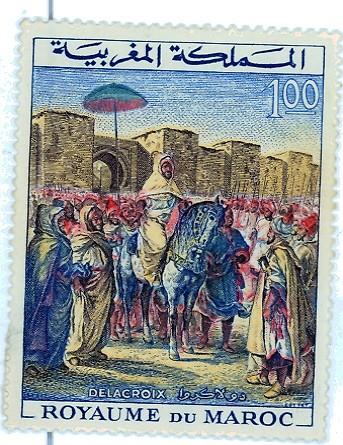 Delacroix, le Sultan du Maroc.jpg