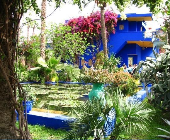 les jardins majorelle de marrakech. Black Bedroom Furniture Sets. Home Design Ideas