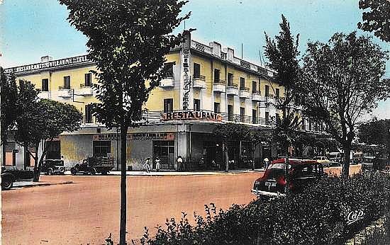 Taza- restaurant-hôtel le Guillaume-Tell vers 1953.jpg