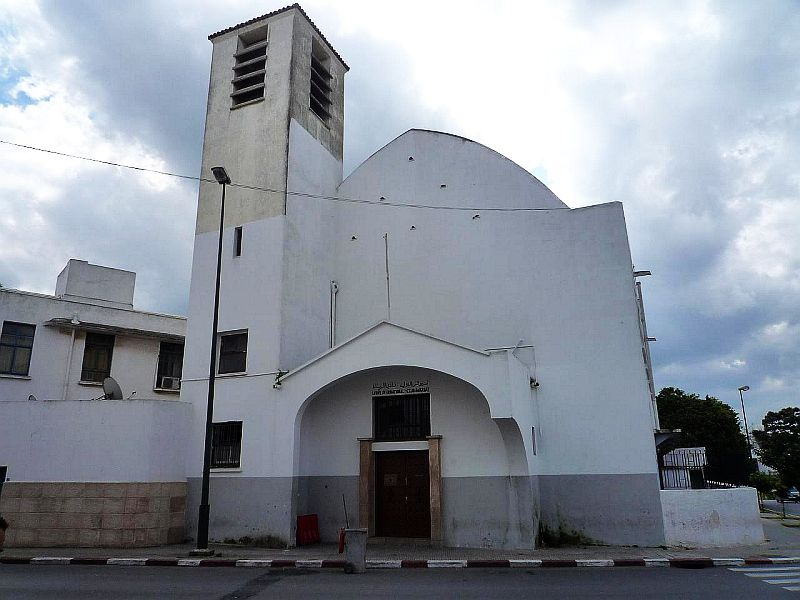 chapelle Charles de Foucault rue d\'Oujda ,au quartier de la Tour Hassan photo Guy Lecoq.jpg