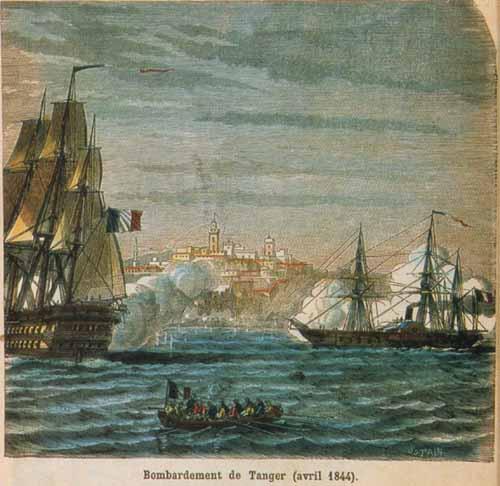 tanger Bombardement1844 gravure de Sotain.jpg
