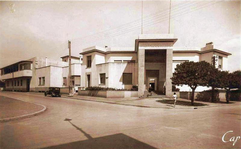Notre auguste Lycée Gouraud de Rabat années 1940-50.jpg