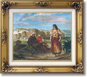 delacroix, vue de Tanger.jpg