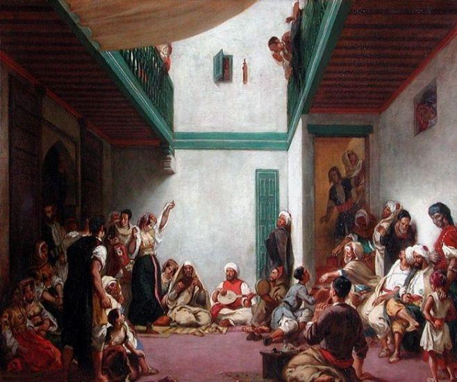 Noces juives dans le Maroc1839,louvre.2.jpg