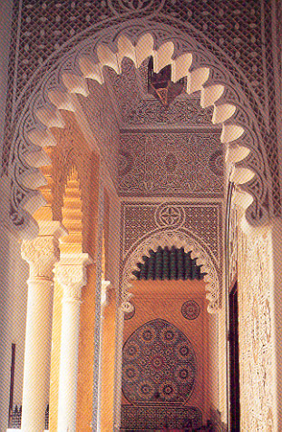 Tangiers,Marble arches in the gardens of the Sultan.jpg