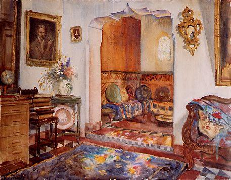 rincon_de_mi_estudio_en_Tanger1940, Apperley,  George Owen Wynne.1.jpg