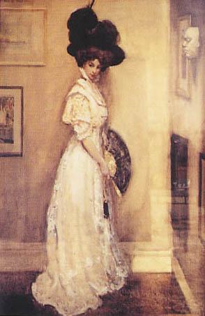 The painter\'s wife (Hilda Pope).1909, George apperley.jpg