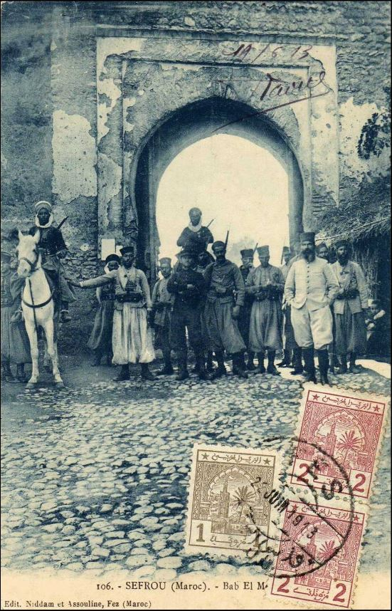 SEFROU Bab Marbaa 1913.JPG