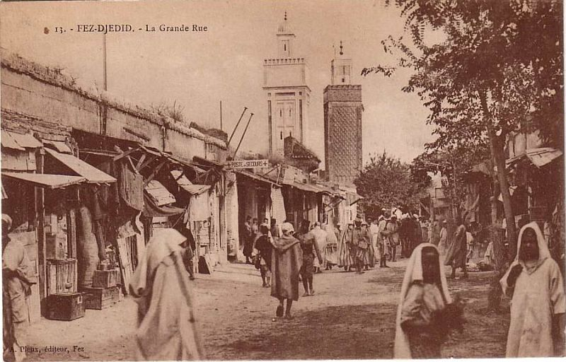 FEZ DJEDID - La Grande Rue, 1922.c.jpg