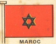 le lien du drapeau marocain avec l 39 etoile de david. Black Bedroom Furniture Sets. Home Design Ideas