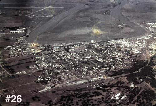 Aerial view of Port Lyautey, 1950, (name changed to Kenitra after the revolution) with the Naval Air Facility upper left..jpg