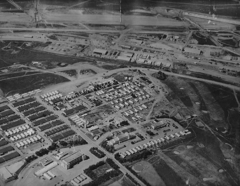 The above photograph was taken in 1952. Using the water tower in the center as a guide,.5.jpg