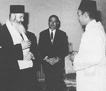 Chalom Messas et le roi Hassan II.jpg
