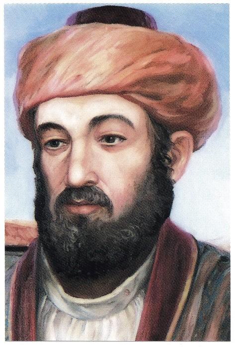 LE RAMBAM - 1135-1205 -  R. Moche Ben Maimon - MAIMONIDES -.jpg