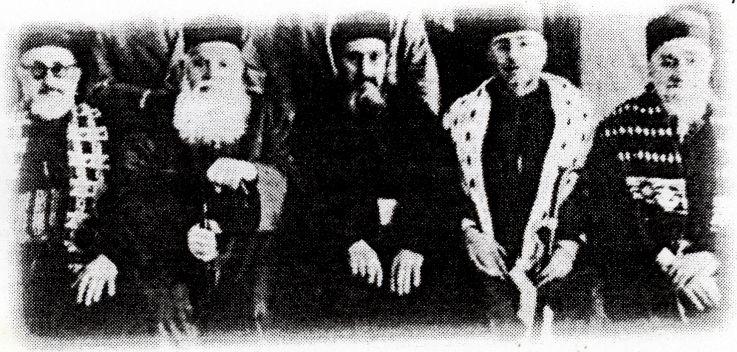 Fes en 1950, le comite de la cacheroute et ses rabbins.jpg