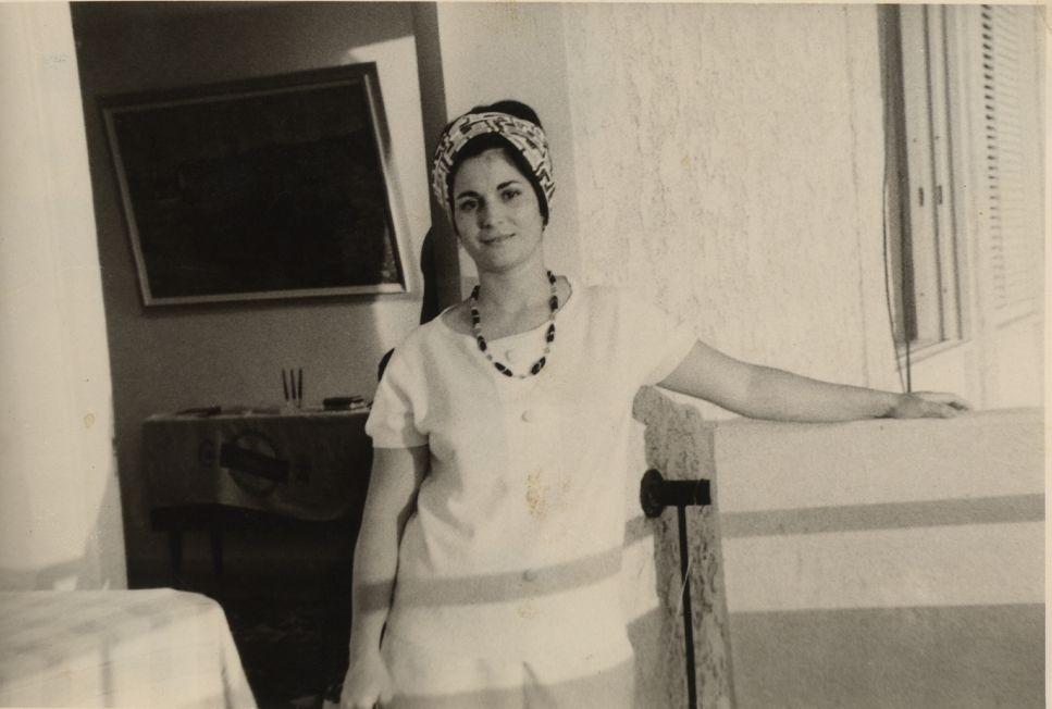 Perla en Israel , vers le milieu des annees 1960\'s.jpg