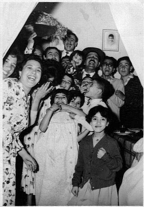 Rabat Seder de Pessah 1959.jpg