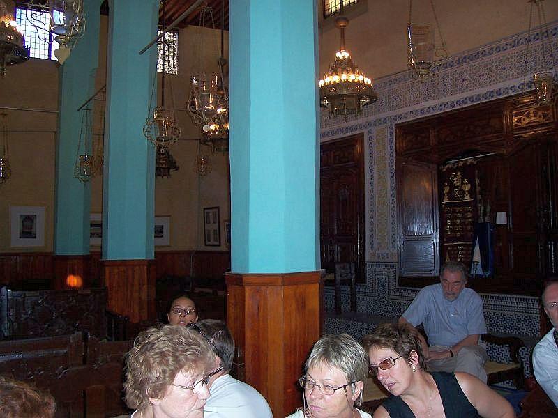 A la grande Synagogue de Fes,voyage en  Septembre 2006.jpg